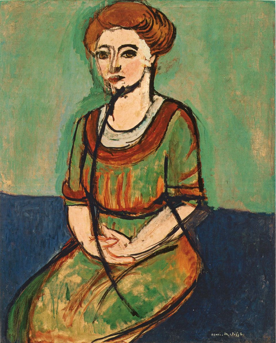 Henri Matisse (1869-1954), Portrait Olga Merson, 1911, Öl auf Leinwand, 99.7 × 80.6 cm, The Museum of Fine Arts, Houston.