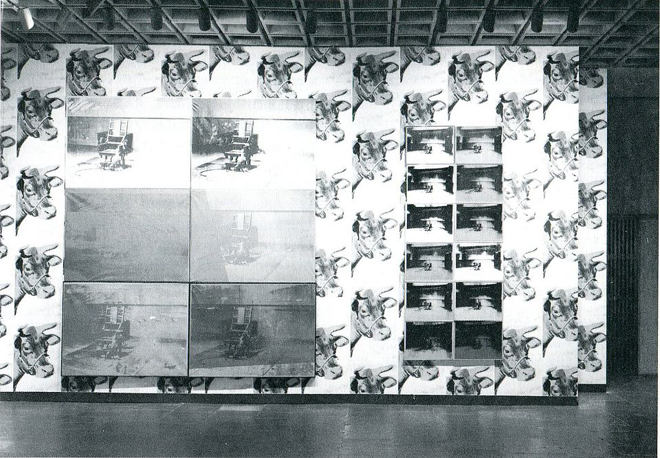 "Installation shot ""Andy Warhol"", Whitney Museum of American Art, New York, May 1 – June 13, 1971."