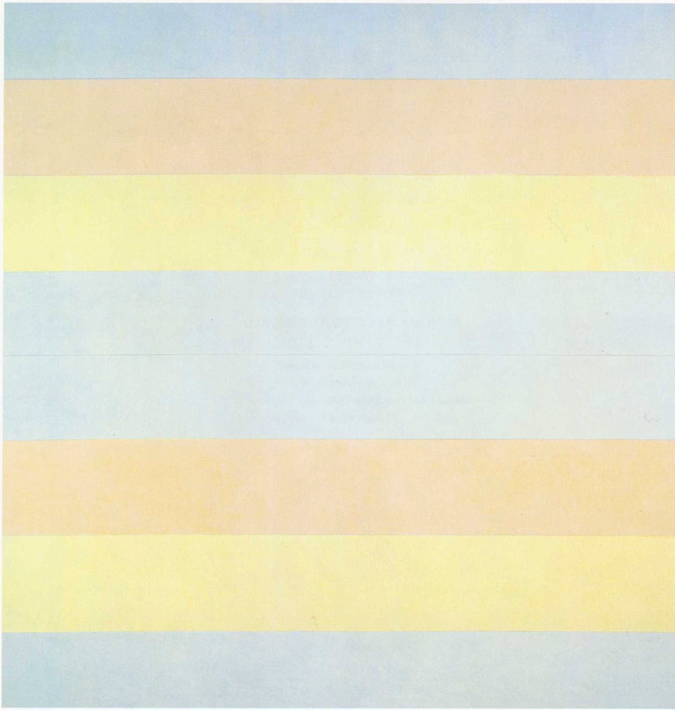 Agnes Martin, With my Back to the World